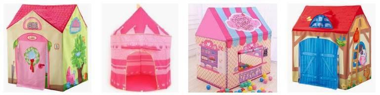 casitas infantiles tela